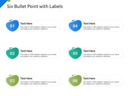 Six Bullet Point With Labels