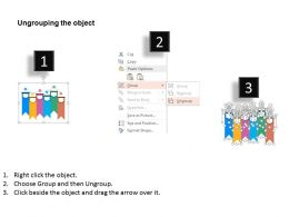 six_colored_tags_with_line_chart_analysis_representation_flat_powerpoint_design_Slide03