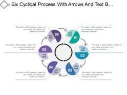 Six Cyclical Process With Arrows And Text Boxes