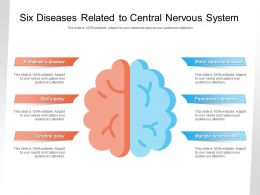Six Diseases Related To Central Nervous System