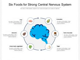 Six Foods For Strong Central Nervous