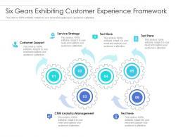 Six Gears Exhibiting Customer Experience Framework