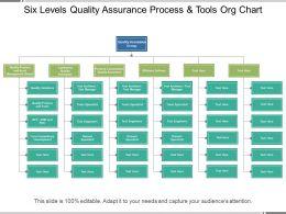 six_levels_quality_assurance_process_and_tools_org_chart_Slide01