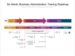 Six Month Business Administration Training Roadmap