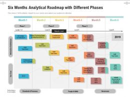 Six Months Analytical Roadmap With Different Phases