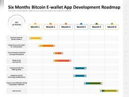 Six Months Bitcoin E Wallet App Development Roadmap