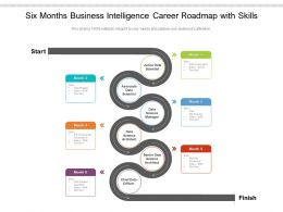Six Months Business Intelligence Career Roadmap With Skills