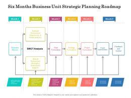 Six Months Business Unit Strategic Planning Roadmap
