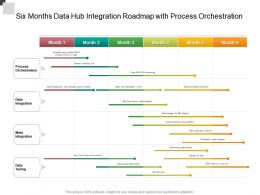 Six Months Data Hub Integration Roadmap With Process Orchestration
