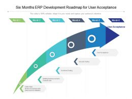 Six Months ERP Development Roadmap For User Acceptance