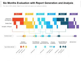 Six Months Evaluation With Report Generation And Analysis