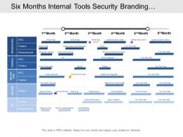 six_months_internal_tools_security_branding_integration_development_timeline_Slide01