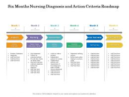 Six Months Nursing Diagnosis And Action Criteria Roadmap