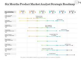 Six Months Product Market Analyst Strategic Roadmap