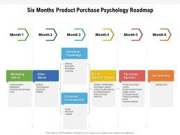 Six Months Product Purchase Psychology Roadmap