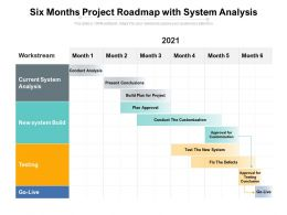 Six Months Project Roadmap With System Analysis