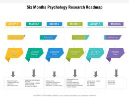 Six Months Psychology Research Roadmap
