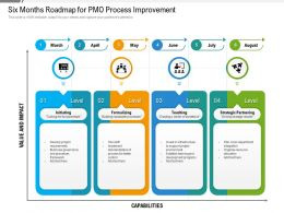 Six Months Roadmap For PMO Process Improvement