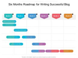 Six Months Roadmap For Writing Successful Blog