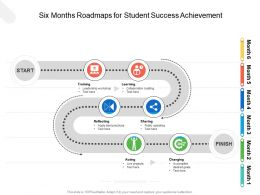 Six Months Roadmaps For Student Success Achievement