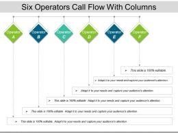 Six Operators Call Flow With Columns