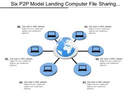 Six P2p Model Lending Computer File Sharing Business Start Network