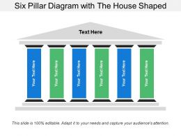 Six Pillar Diagram With The House Shaped