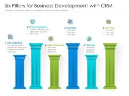 Six Pillars For Business Development With CRM