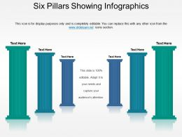 Six Pillars Showing Infographics