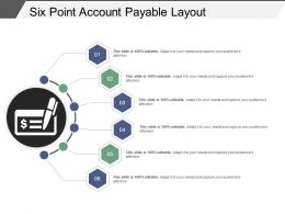 six_point_account_payable_layout_ppt_samples_download_Slide01