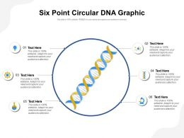 Six Point Circular DNA Graphic