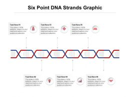 Six Point DNA Strands Graphic