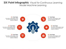 Six Point Visual For Continuous Learning Model Machine Learning Infographic Template