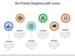 Six Points Graphics With Icons