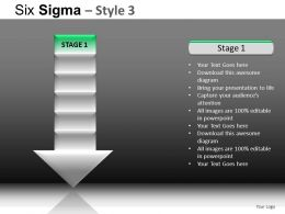Six Sigma 3 Powerpoint Presentation Slides DB
