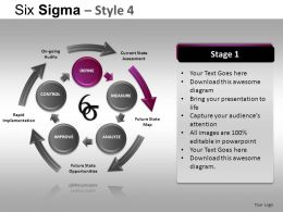 Six Sigma 4 Powerpoint Presentation Slides DB