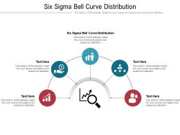 Six Sigma Bell Curve Distribution Ppt Powerpoint Presentation Layouts Pictures Cpb