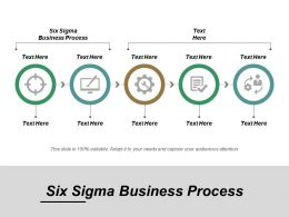 Six Sigma Business Process Ppt Powerpoint Presentation File Gridlines Cpb