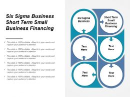 Six Sigma Business Short Term Small Business Financing Cpb