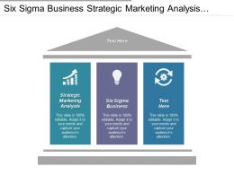 Six Sigma Business Strategic Marketing Analysis Option Strategy Cpb