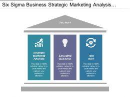 Six Sigma Business Strategic Marketing Analysis Option Strategy Cpb