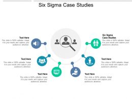 Six Sigma Case Studies Ppt Powerpoint Presentation Pictures Graphic Tips Cpb