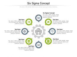 Six Sigma Concept Ppt Powerpoint Presentation Portfolio Smartart Cpb