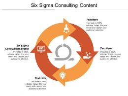 Six Sigma Consulting Content Ppt Powerpoint Presentation Gallery Slides Cpb