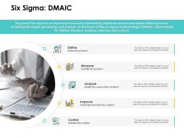 Six Sigma DMAIC Analyze Ppt Powerpoint Presentation Inspiration Portrait