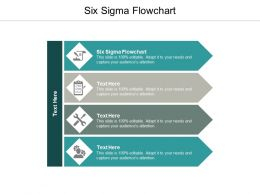 Six Sigma Flowchart Ppt Powerpoint Presentation Icon Graphics Pictures Cpb