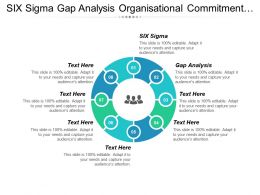 Six Sigma Gap Analysis Organisational Commitment Employee Engagement Cpb