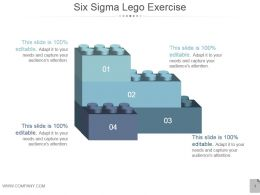 Six Sigma Lego Exercise Ppt Design Templates