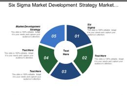 Six Sigma Market Development Strategy Market Needs Non Profit Strategy