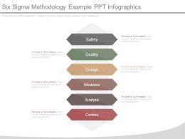 Six Sigma Methodology Example Ppt Infographics
